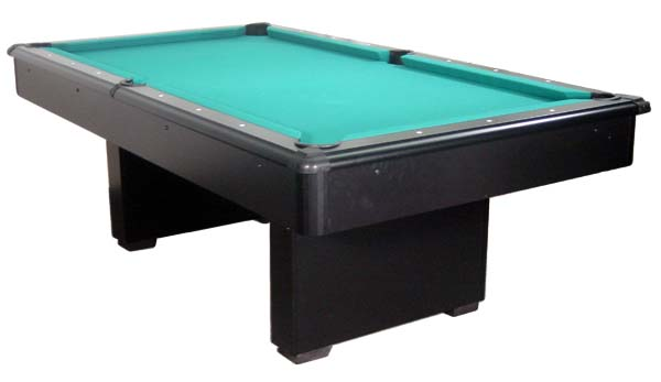 Illinois Location Carterville Pool Tables AMF Billiards Style Black - Playmaster pool table